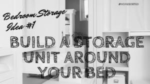 clever bedroom storage