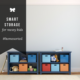 Smart Toy Storage for Messy Kids