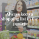 Pantry Organisation Tips for Families