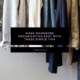 How to Make Wardrobe Organisation Easy
