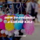How to Organise a Garage Sale