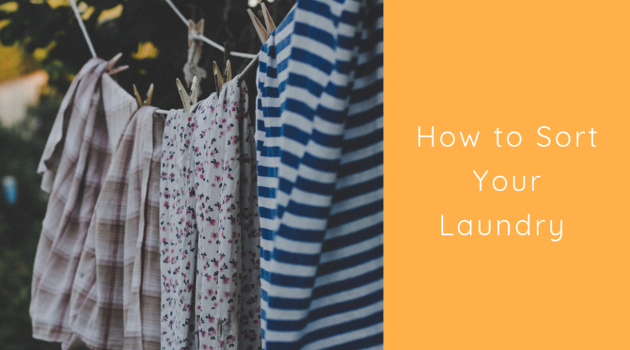 How to Sort Your Laundry