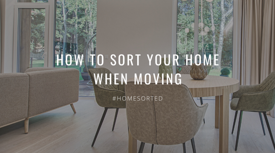 How to Sort Your Home When Moving