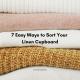 7 Easy Ways to Sort Your Linen Cupboard